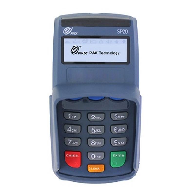 Pinpad SP20 (Thiết bị nhập PIN; Có tích hợp đầu đọc Contactless)