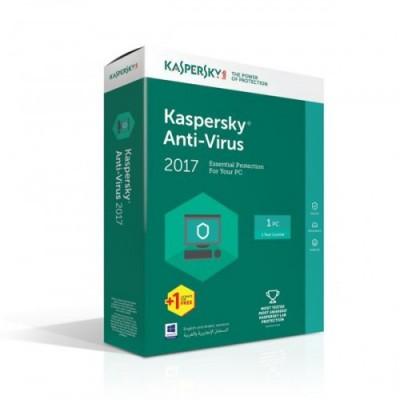 Phần mềm Kaspersky Anti Virus 2017(1PC)
