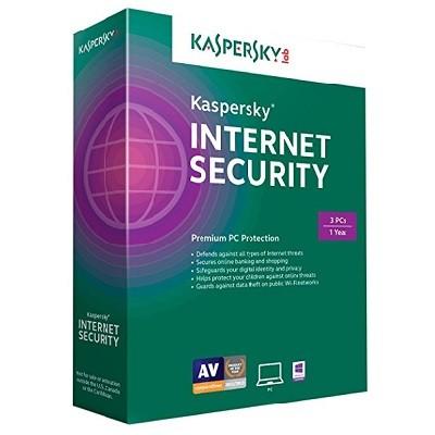 Phần mềm Kaspersky Internet Security 2017 (3 PC)